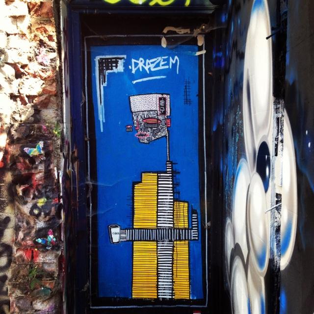 Art by street artist, ALO