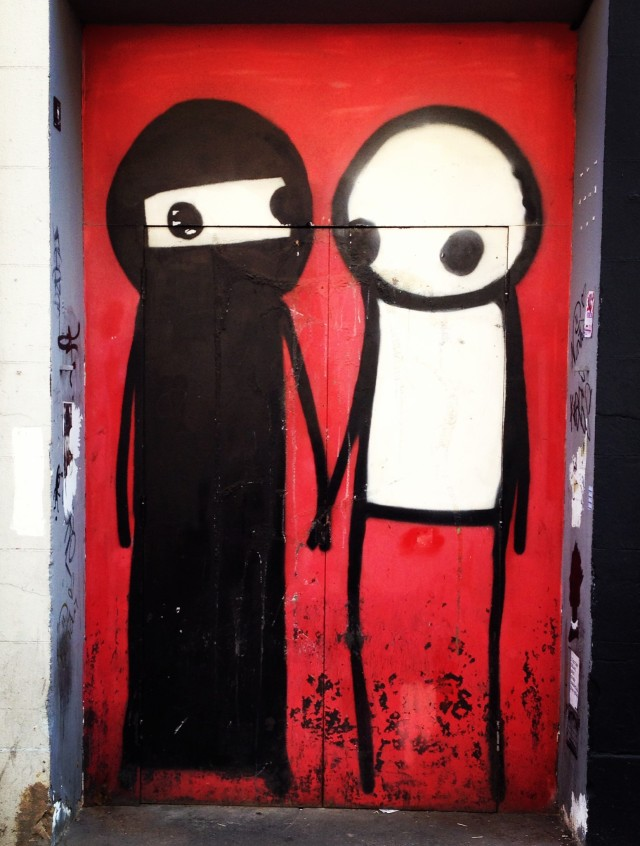 Piece by Stik