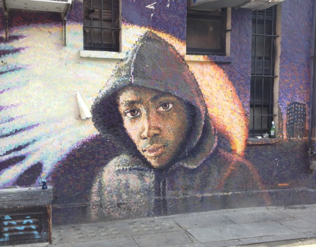Piece paying homage to Trayvon Martin by Jimmy C